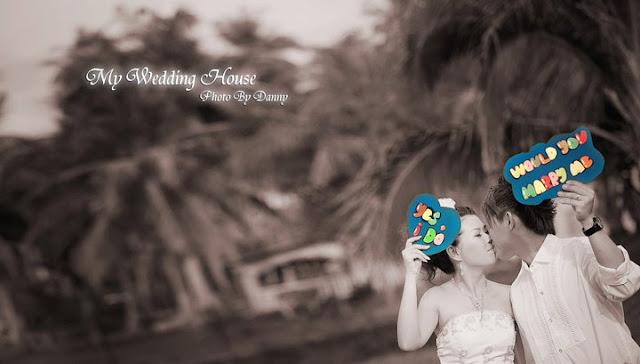 cute pre-wedding photo