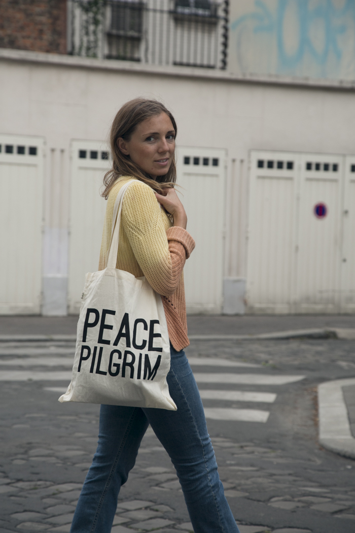 eco, ethical, sustainable, tote, peace, pilgrim, a beautiful refuge
