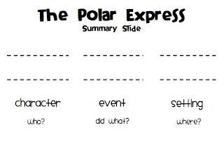 Sarah's First Grade Snippets: Polar Express Pack