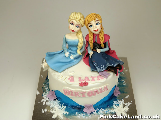 Frozen Birthday Cake Chelsea London