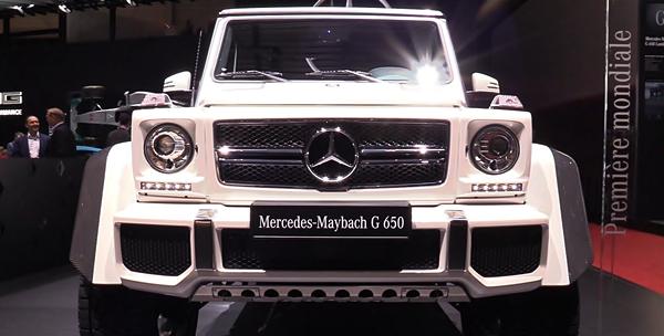 2018 Mercedes-Maybach G650 Landaulet SUV