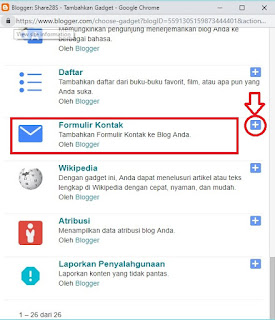 cara membuat contact share28s