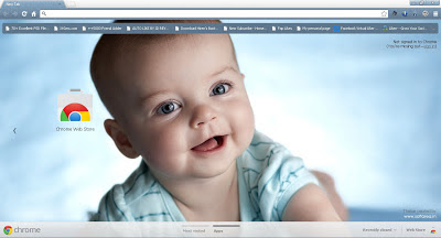 Cute Child Google Chrome Theme