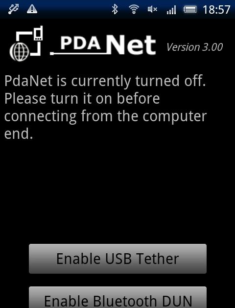 Japan Mobile Tech: PdaNet Bluetooth DUN setup for tethering