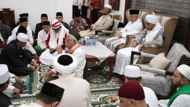 KH. Maruf Amin Didoakan Ulama dan Habaib Se Indonesia Jelang Debat tadi
