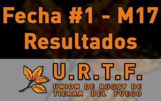[URTF] Resultados: Menores de 17 - Fecha #1