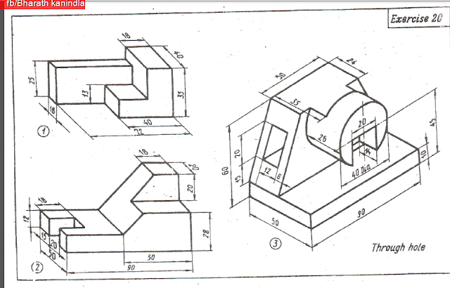 114 3d Model Practice Diagrams Free Download Bharath