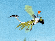مغامرات الطائر الوحش بن تن