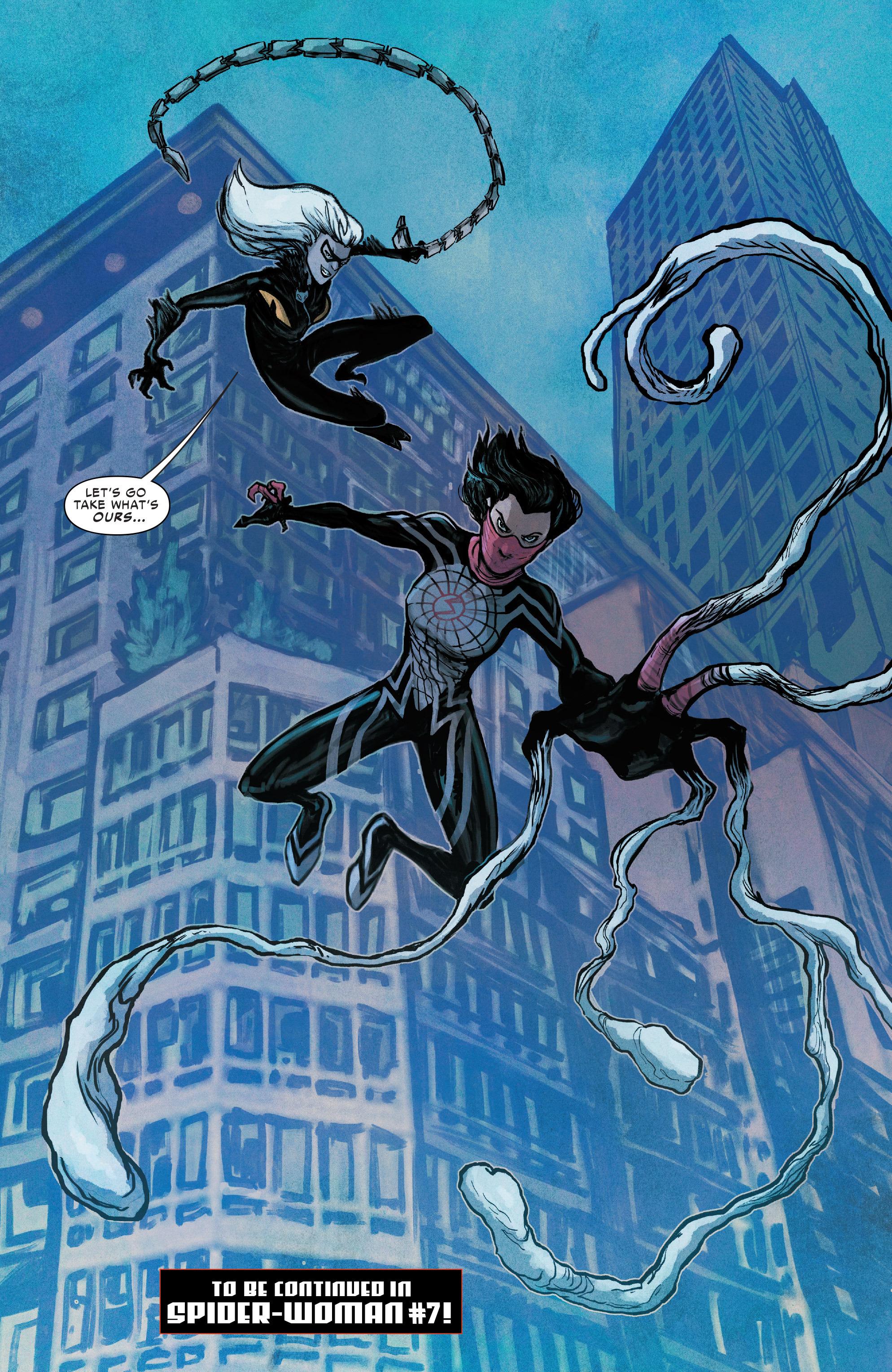Read online Silk (2016) comic -  Issue #8 - 23