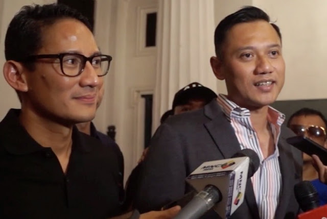 Demokrat Tagih Janji, Gerindra Siapkan Kampanye Duo Sandi-AHY