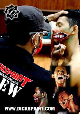 make up zombie jakarta