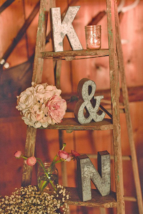 Chic Vintage Wedding Decor Ideas guest book idea