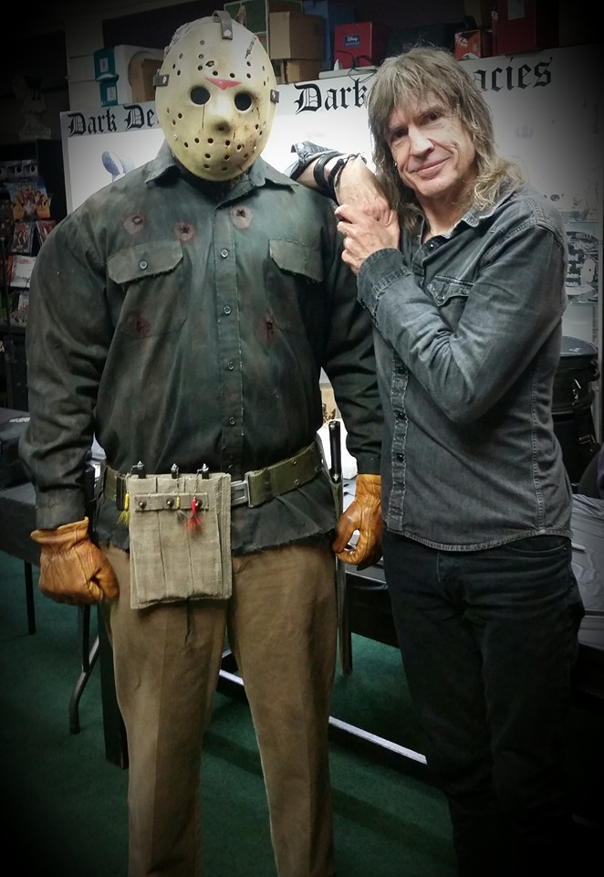 The ultimate jason voorhees costuming guide part 1 an jason baker in his part 6 costume with director tom mcloughlin solutioingenieria Gallery