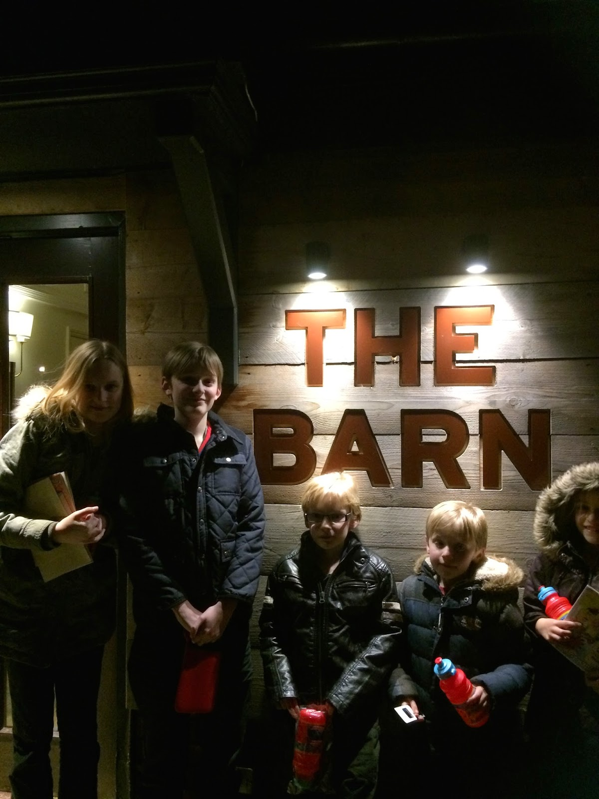 children at The Barn, Beefeater, Milton Keynes