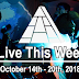 Live This Week: October 14th - 20th, 2018
