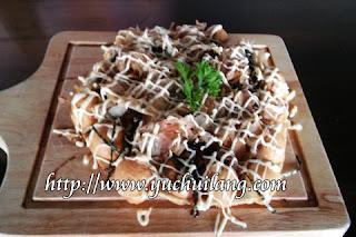 Waffle Telur