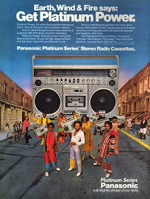 Earth Wind and Fire Vintage audio advertisment 60ies 70ies