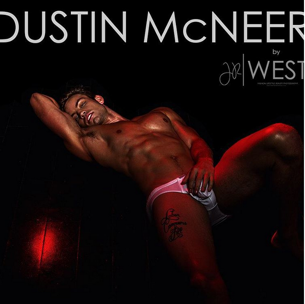 Dustin Mcneer Gets Naked On Instagram