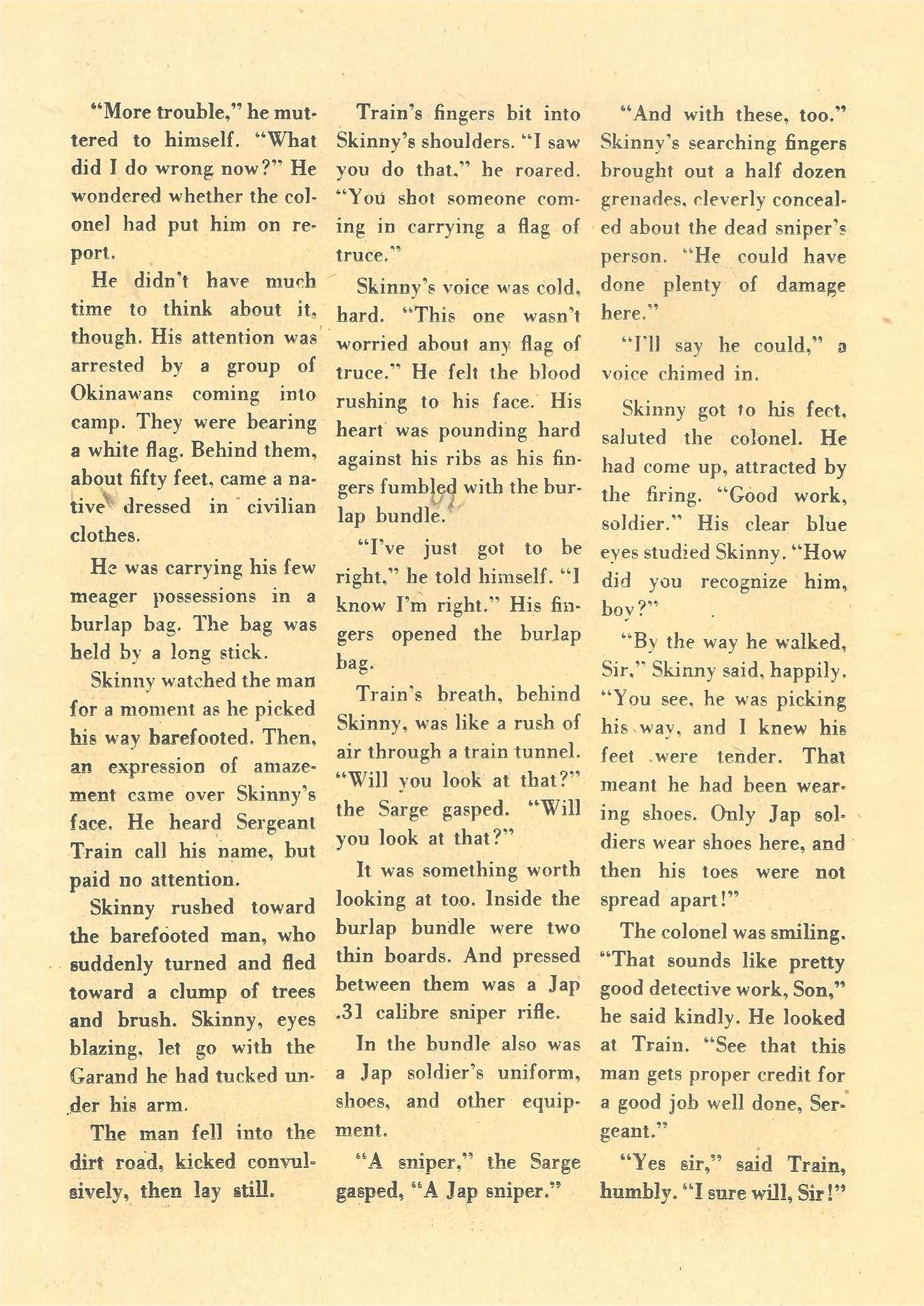 Read online Detective Comics (1937) comic -  Issue #109 - 32
