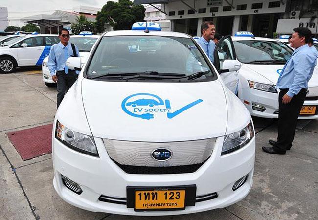Tinuku Electric-powered VIP taxi cabs to ply Bangkok next month
