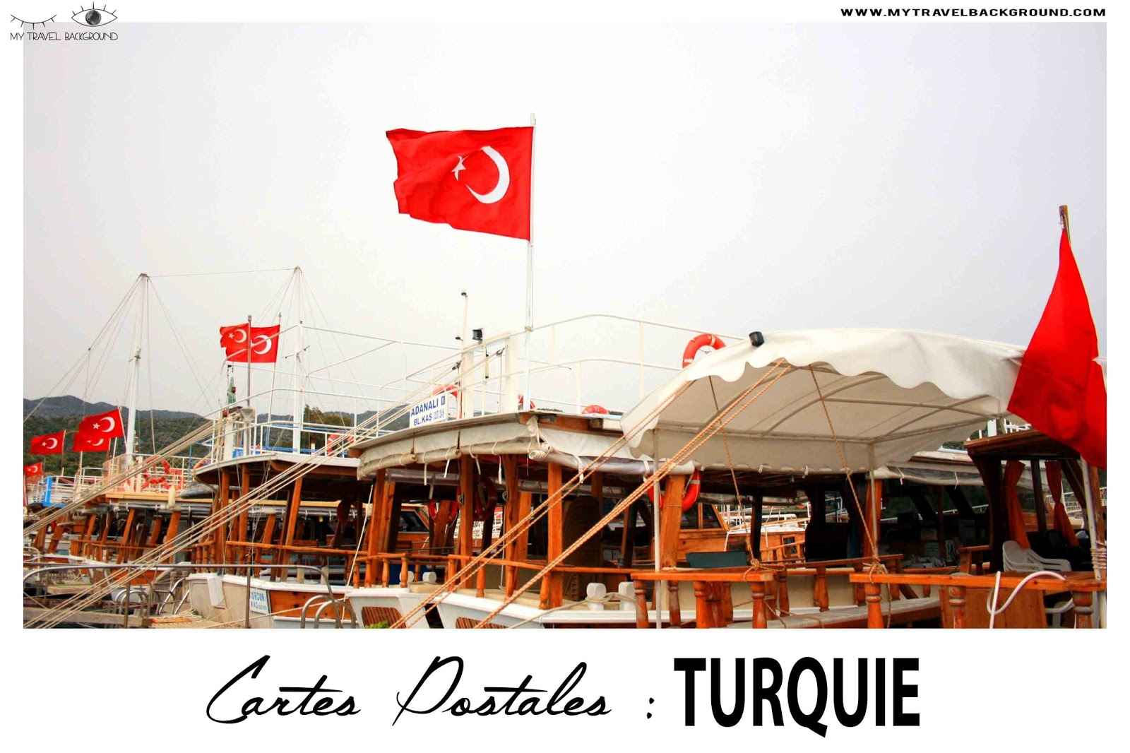 My Travel Background : Cartes Postale Turquie