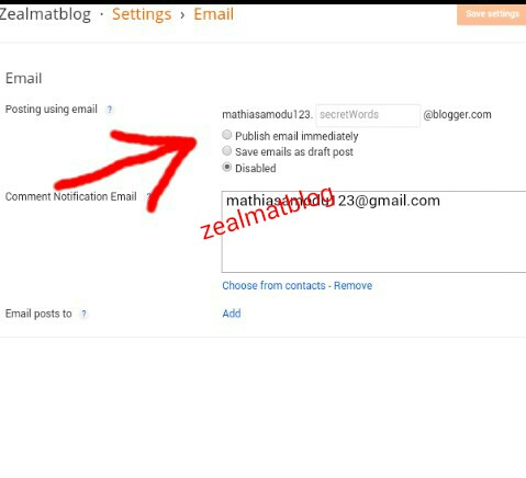 How To Use E-mail to Update Your Blogger Blog