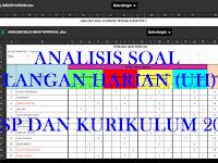 Aplikasi Analisis Soal Ulangan Harian (UH) SD KTSP dan Kurikulum 2013
