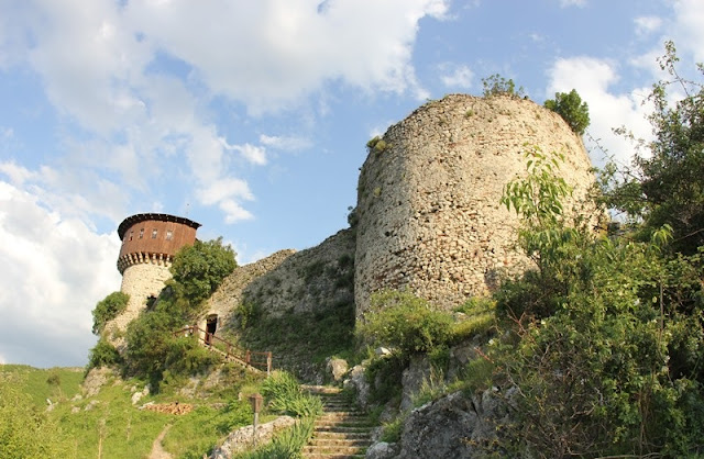 Petrela Castle, a historical and pilgrimage site near Tirana