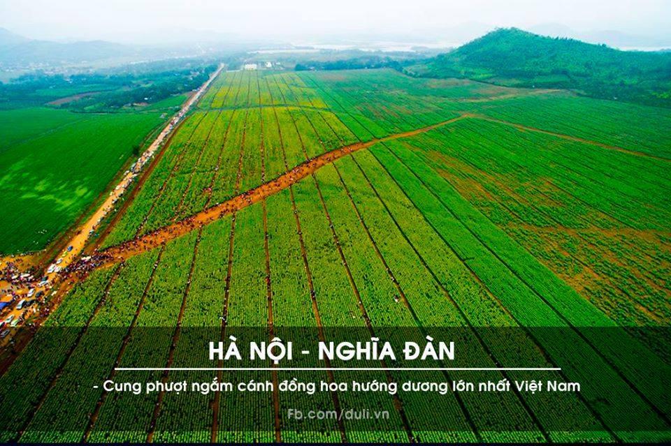 Hà Nội - Thanh Hóa - Nghĩa Đàn (Nghệ An)