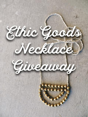 ETHIC GOODS NECKLACE GIVEAWAY