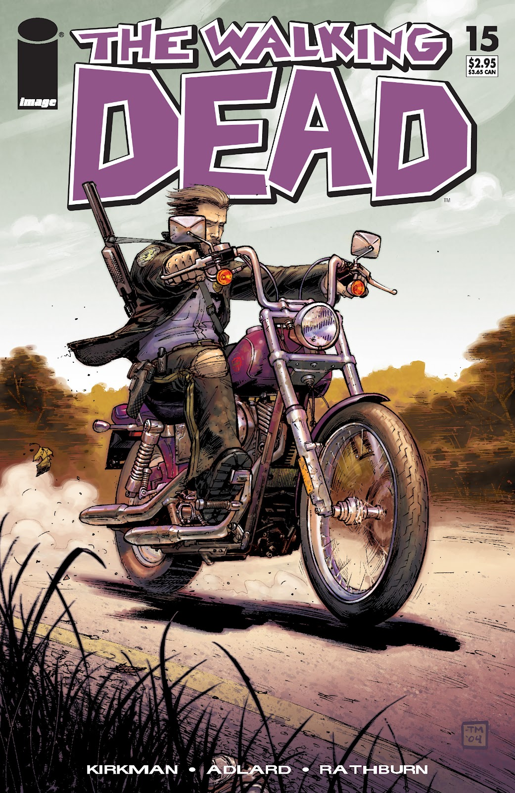 The Walking Dead issue 15 - Page 1