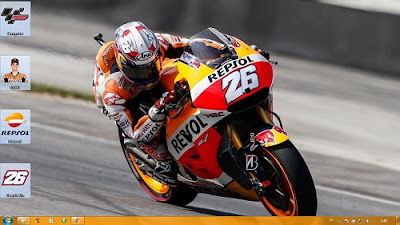 Tema Windows Dani Pedrosa MotoGP 2015