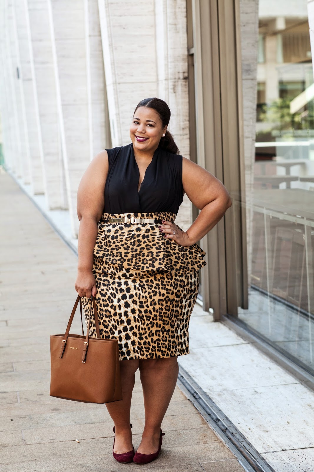 Cute Midi Heels, Plus size leopard skirt