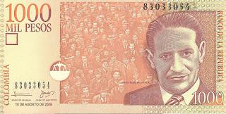 ホルヘ・エリエセル・ガイタンの紙幣
