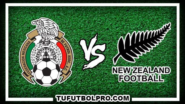 Ver México vs Nueva Zelanda EN VIVO Gratis Por Internet Hoy 8 de Octubre 2016