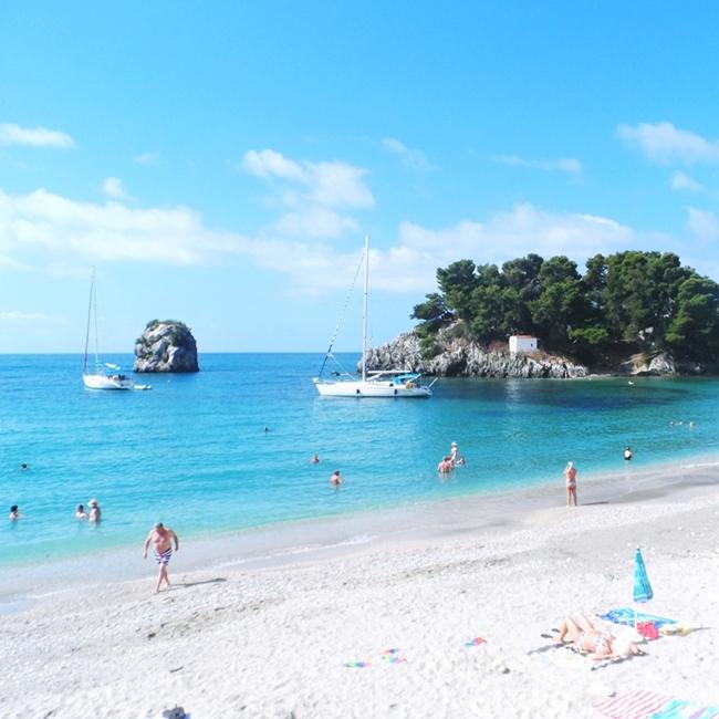Jelena Zivanovic Instagram @lelazivanovic.Glam fab week.Parga beaches Krioneri and Piso Krioneri.Parga plaze Krioneri i Piso Krioneri.