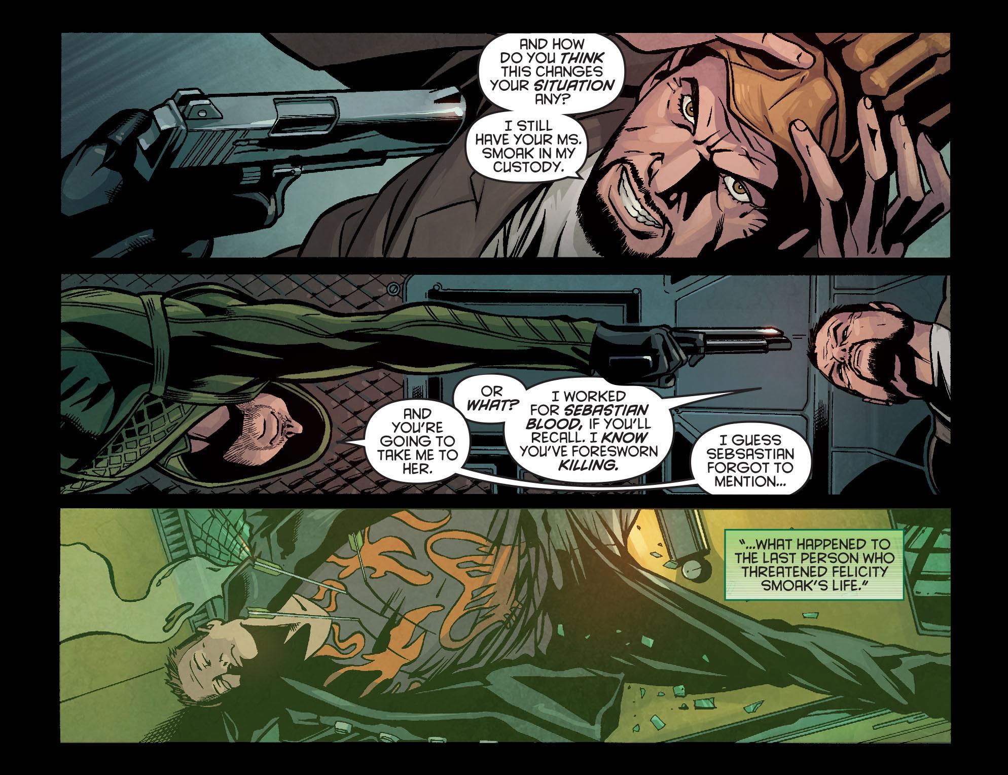 Read online Arrow: Season 2.5 [I] comic -  Issue #14 - 6