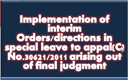 implementation-of-interim-orders-directions-in-special-leave