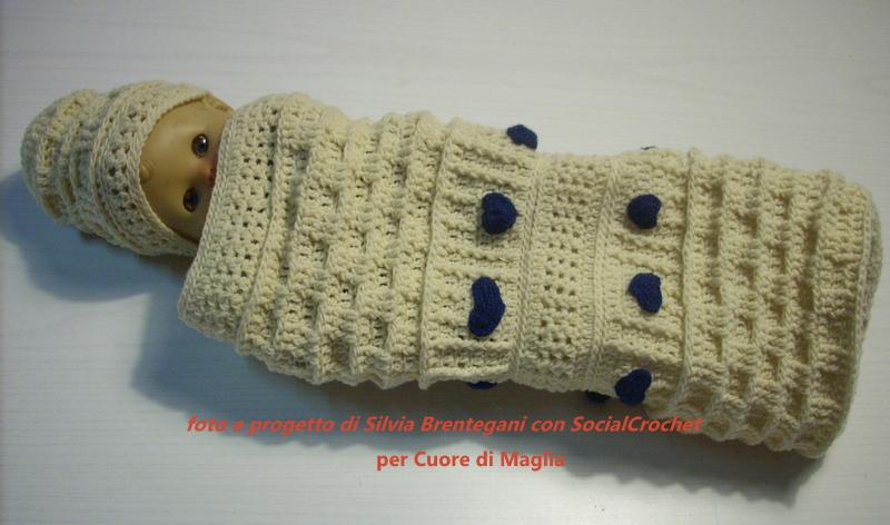 Tocco Di Lilla Crochetuncinetto Per Neonati Tutorial
