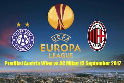 Prediksi Austria Wien VS AC Milan 15 September 2017