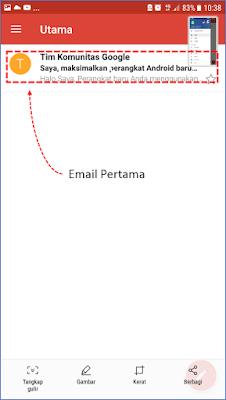 Cara 2 : Membuat Akun Gmail Melalui Aplikasi Gmail 14