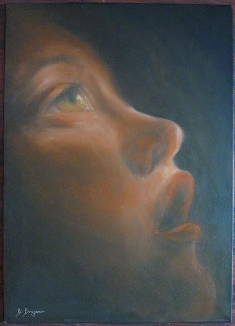 Mirare - pictura ulei/panza 50x70cm