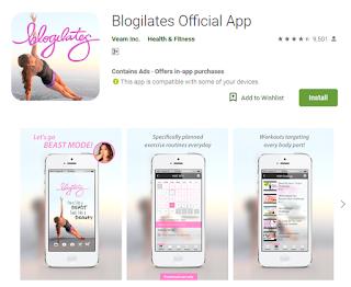 aplikasi blogilates