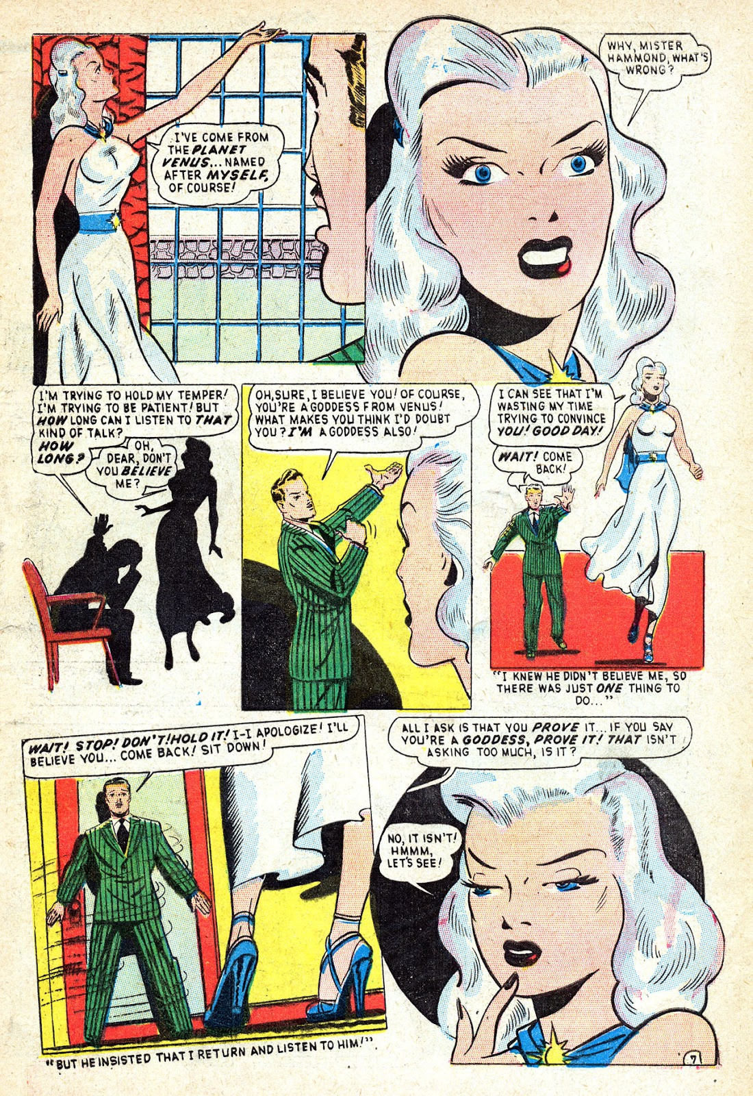 Venus (1948) issue 1 - Page 9