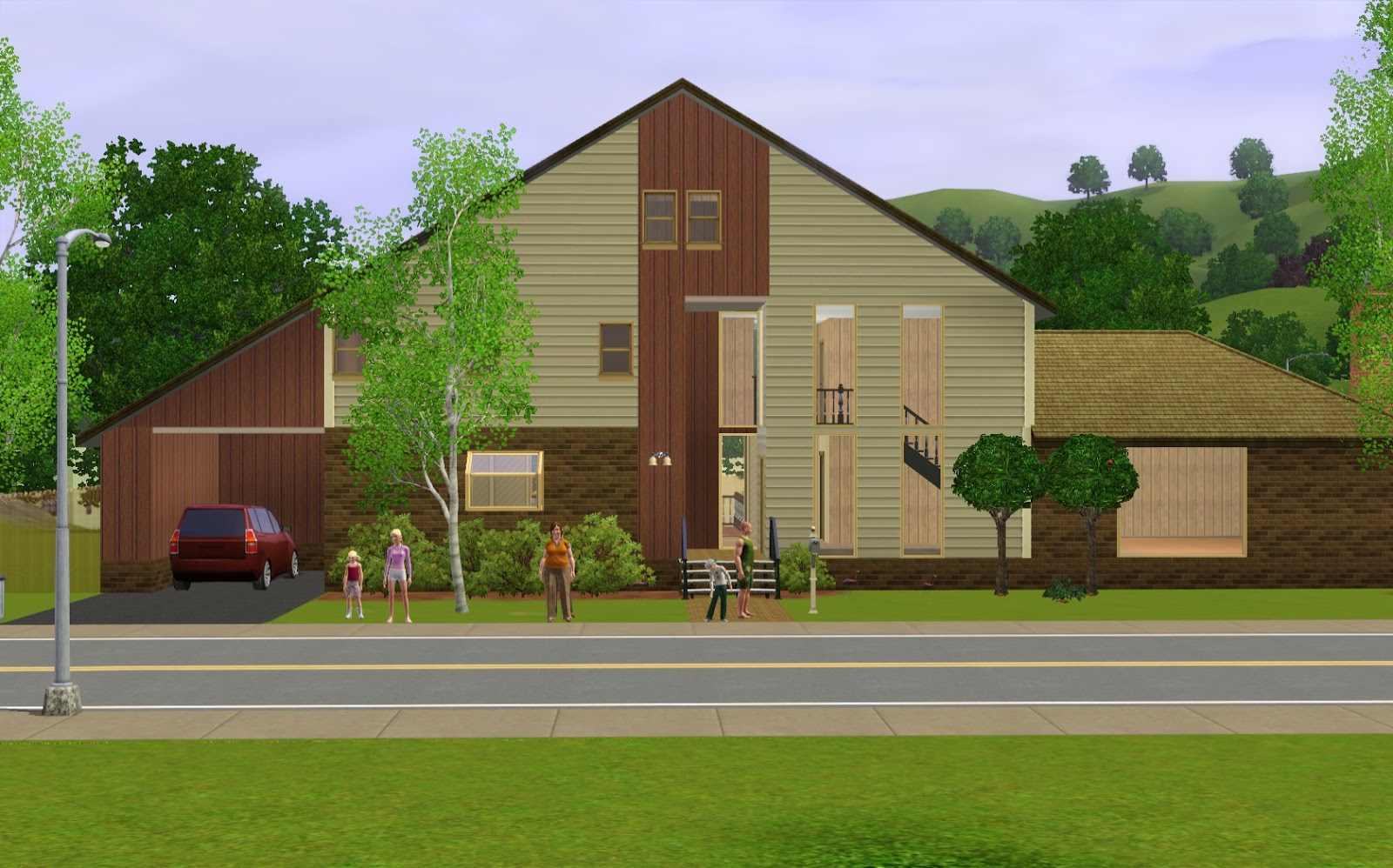 Summer's Little Sims 3 Garden: Sunset Valley (The Sims 3