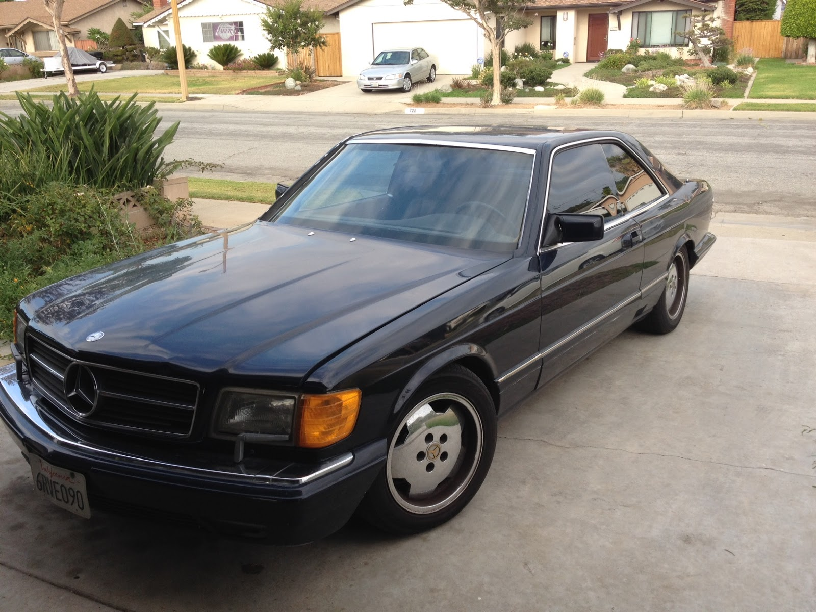 talking story ..: mercedes benz 1988 560 sec coupe $1500 german