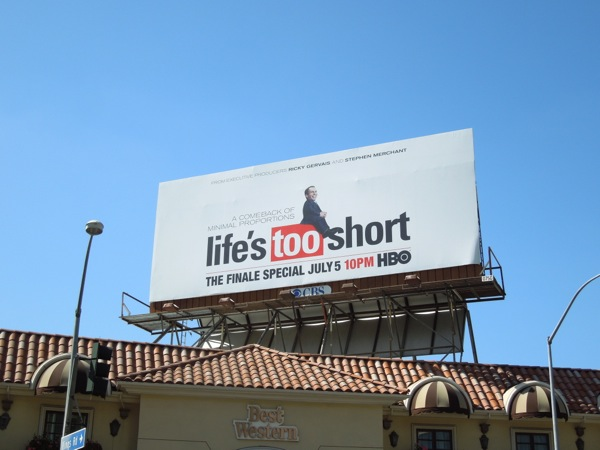 Lifes Too Short series finale billboard