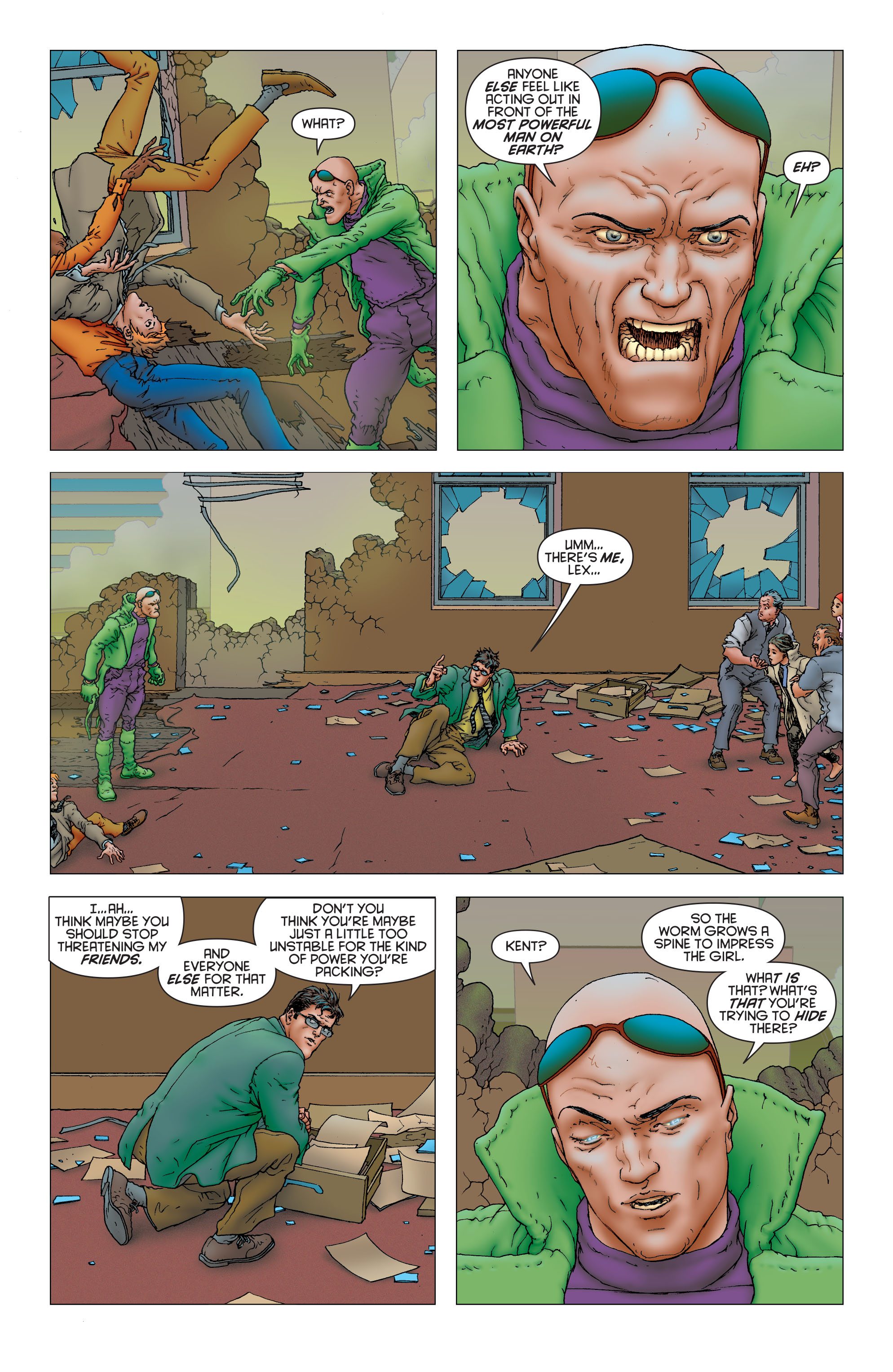 Read online All Star Superman comic -  Issue #12 - 10