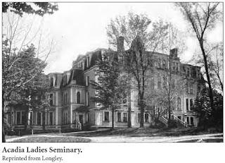 Side view of Seminary at Acadia University