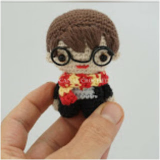 patron amigurumi Harry Potter canal crochet